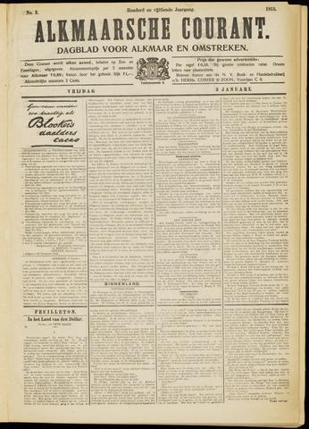 Alkmaarsche Courant 1913-01-03