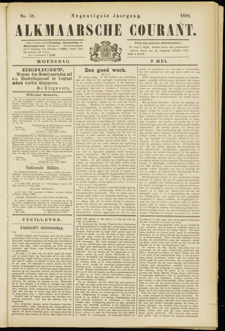 Alkmaarsche Courant 1888-05-09