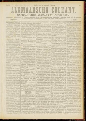 Alkmaarsche Courant 1919-07-11