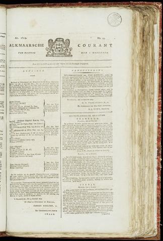 Alkmaarsche Courant 1819-11-01