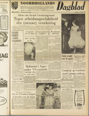 Noordhollands Dagblad : dagblad voor Alkmaar en omgeving 1960-10-21