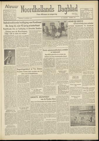 Nieuw Noordhollandsch Dagblad : voor Alkmaar en omgeving 1948-08-16