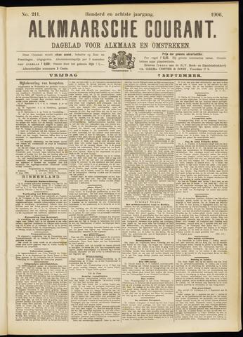 Alkmaarsche Courant 1906-09-07
