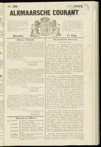 Alkmaarsche Courant 1854-07-17