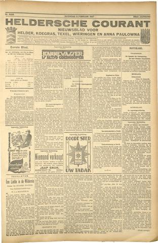 Heldersche Courant 1927-02-05