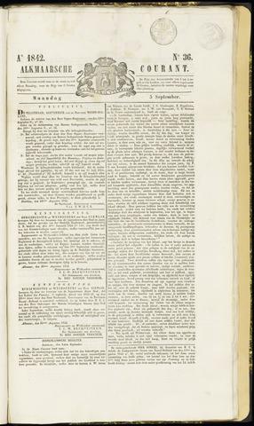 Alkmaarsche Courant 1842-09-05
