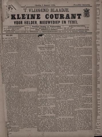 Vliegend blaadje : nieuws- en advertentiebode voor Den Helder 1884-01-01