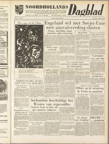 Noordhollands Dagblad : dagblad voor Alkmaar en omgeving 1958-01-06