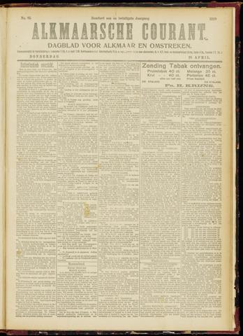 Alkmaarsche Courant 1919-04-10