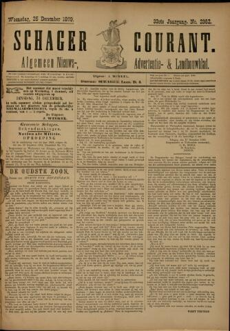 Schager Courant 1889-12-25