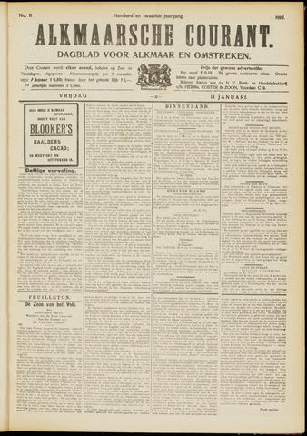 Alkmaarsche Courant 1910-01-14