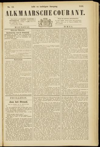 Alkmaarsche Courant 1886-05-26