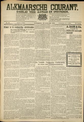 Alkmaarsche Courant 1930-01-18
