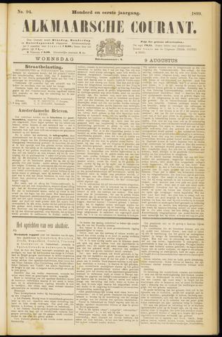 Alkmaarsche Courant 1899-08-09