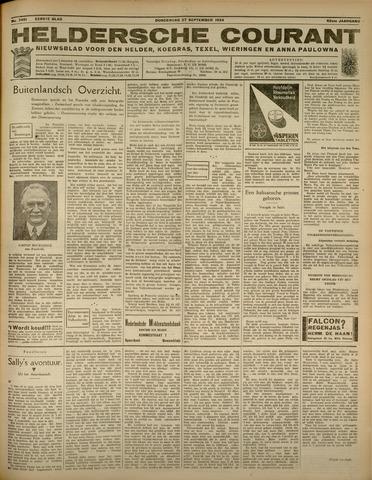 Heldersche Courant 1934-09-27