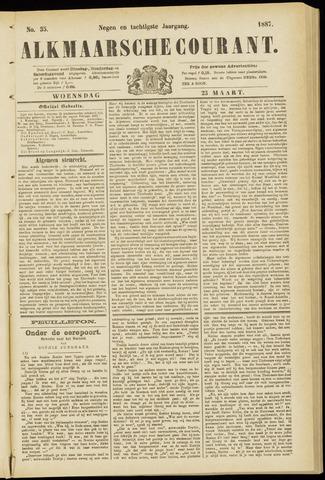 Alkmaarsche Courant 1887-03-23