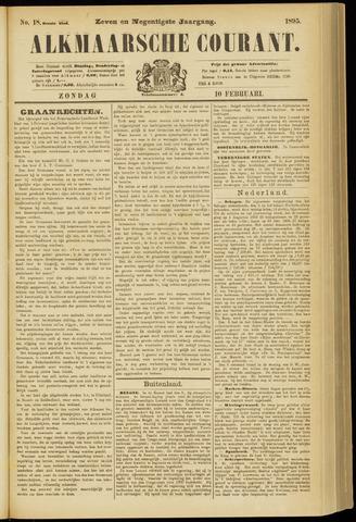 Alkmaarsche Courant 1895-02-10