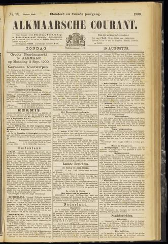 Alkmaarsche Courant 1900-08-19