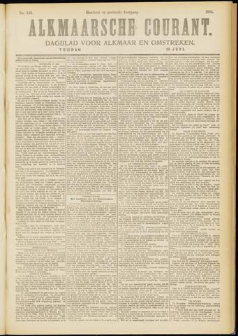 Alkmaarsche Courant 1914-06-19