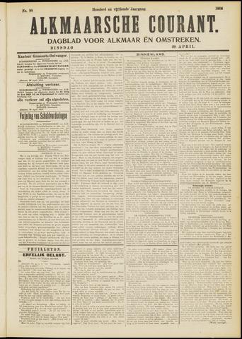 Alkmaarsche Courant 1913-04-29
