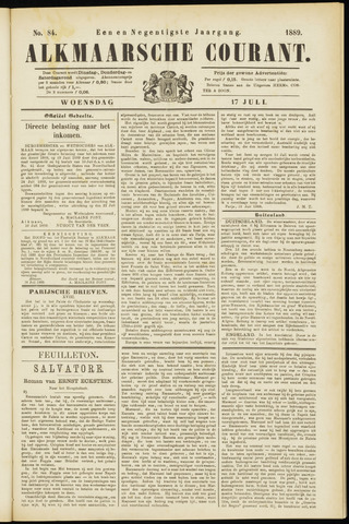 Alkmaarsche Courant 1889-07-17