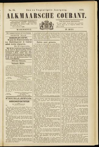 Alkmaarsche Courant 1889-05-29