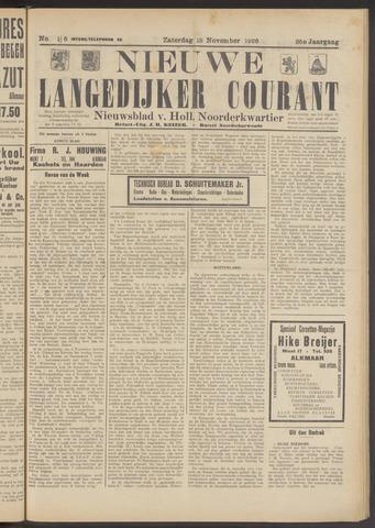Nieuwe Langedijker Courant 1926-11-13