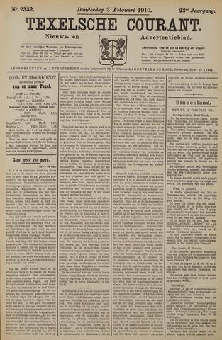 Texelsche Courant 1910-02-03