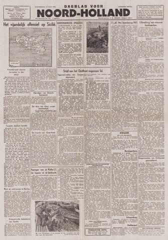 Dagblad Noord-Holland, Schager editie 1943-07-15
