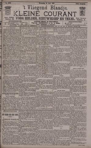 Vliegend blaadje : nieuws- en advertentiebode voor Den Helder 1897-06-16