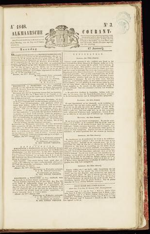 Alkmaarsche Courant 1848-01-17
