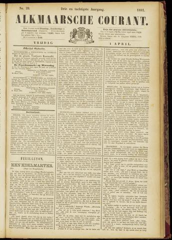 Alkmaarsche Courant 1881-04-01