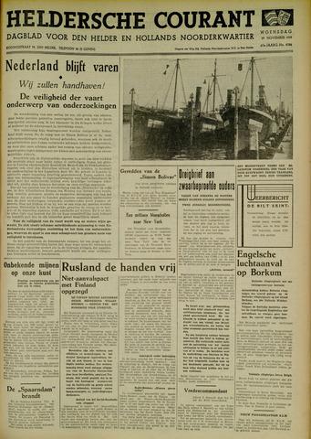 Heldersche Courant 1939-11-29