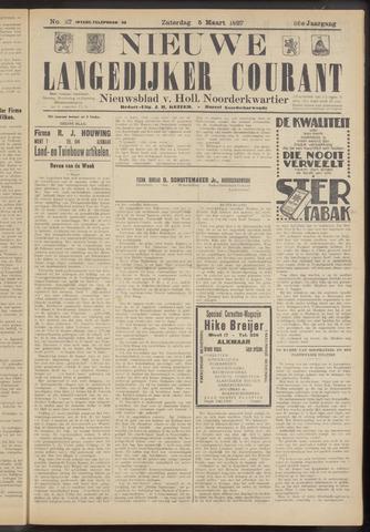 Nieuwe Langedijker Courant 1927-03-05