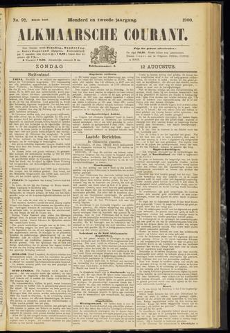 Alkmaarsche Courant 1900-08-12