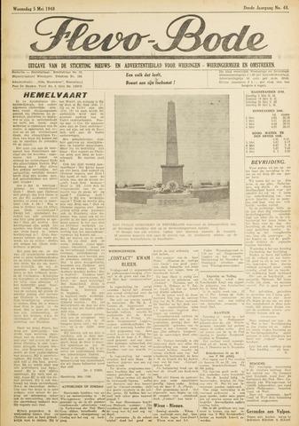 Flevo-bode: nieuwsblad voor Wieringen-Wieringermeer 1948-05-05