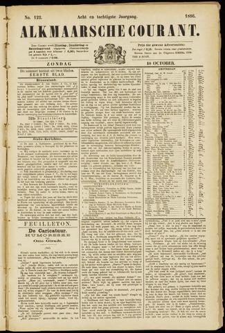 Alkmaarsche Courant 1886-10-10