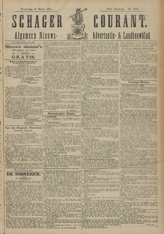 Schager Courant 1911-03-22