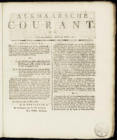Alkmaarsche Courant 1816-05-20
