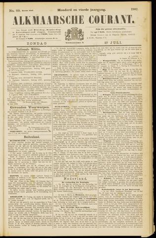 Alkmaarsche Courant 1902-07-27