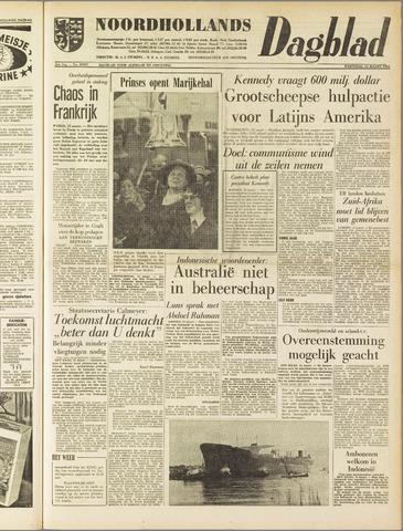 Noordhollands Dagblad : dagblad voor Alkmaar en omgeving 1961-03-15