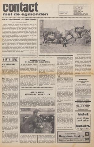 Contact met de Egmonden 1976-01-28