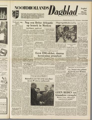 Noordhollands Dagblad : dagblad voor Alkmaar en omgeving 1954-08-12