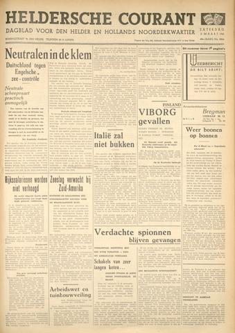 Heldersche Courant 1940-03-02