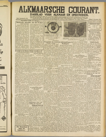 Alkmaarsche Courant 1941-11-21