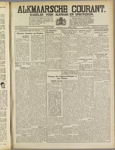 Alkmaarsche Courant 1941-08-07