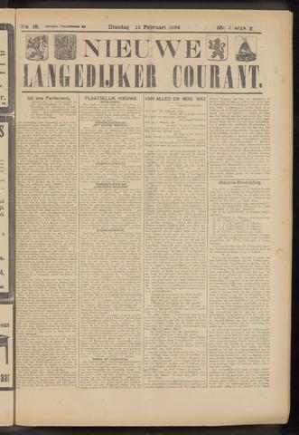 Nieuwe Langedijker Courant 1924-02-12