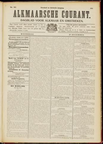 Alkmaarsche Courant 1911-12-27