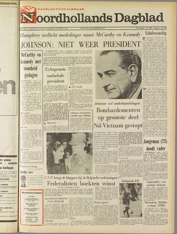 Noordhollands Dagblad : dagblad voor Alkmaar en omgeving 1968-04-01