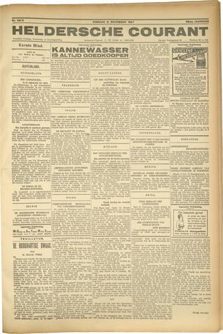 Heldersche Courant 1927-11-07